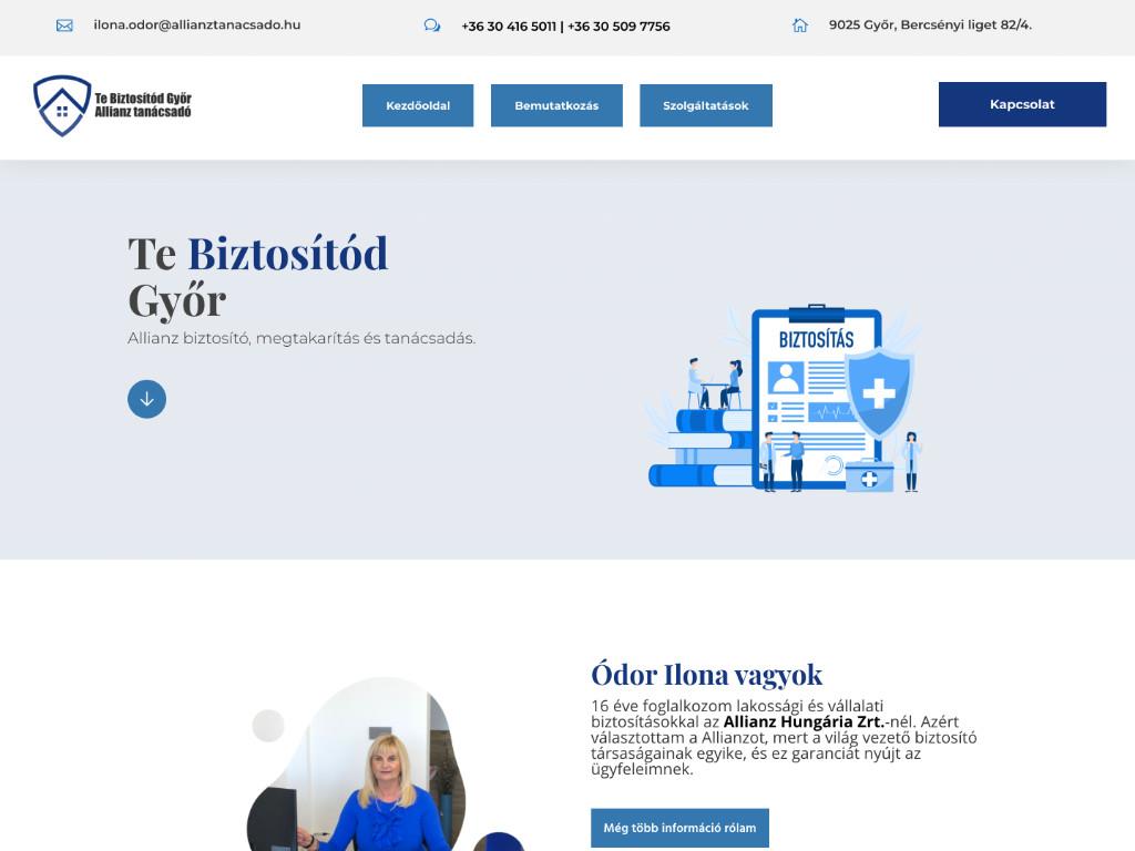 Weboldal készítés: Te biztosítód Győr